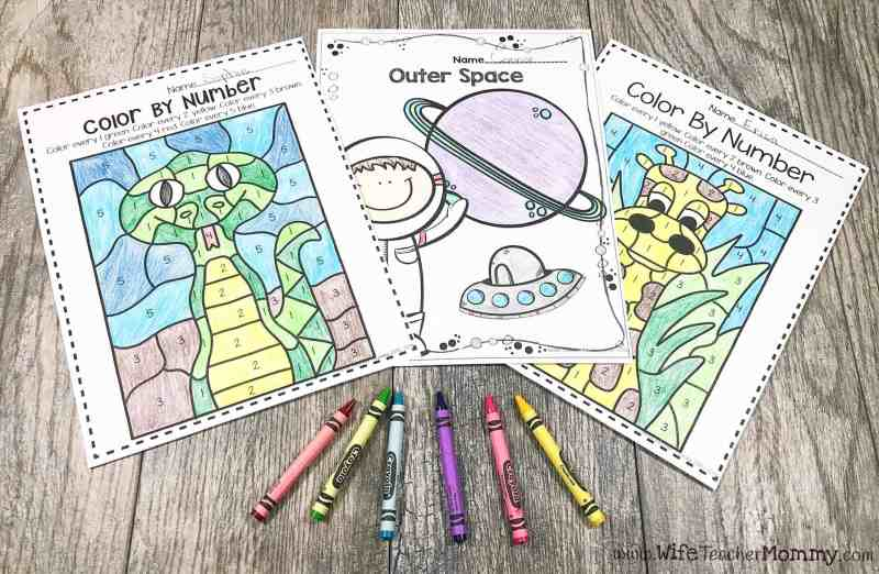 Coloring Pages for Substitute Teachers