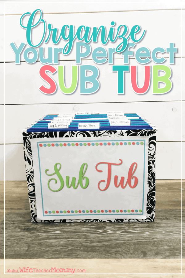 Organize Your Perfect Sub Tub