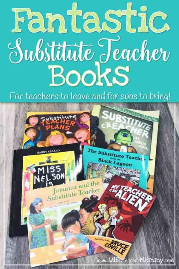 Fantastic Substitute Teacher Books