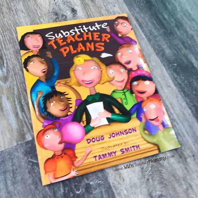 Substitute Teacher Plans book review