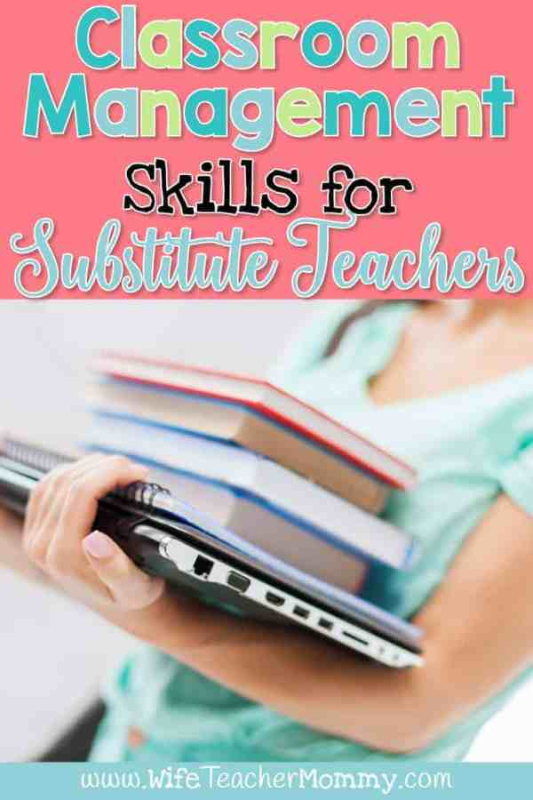 Classroom Management Skills for Substitute Teachers