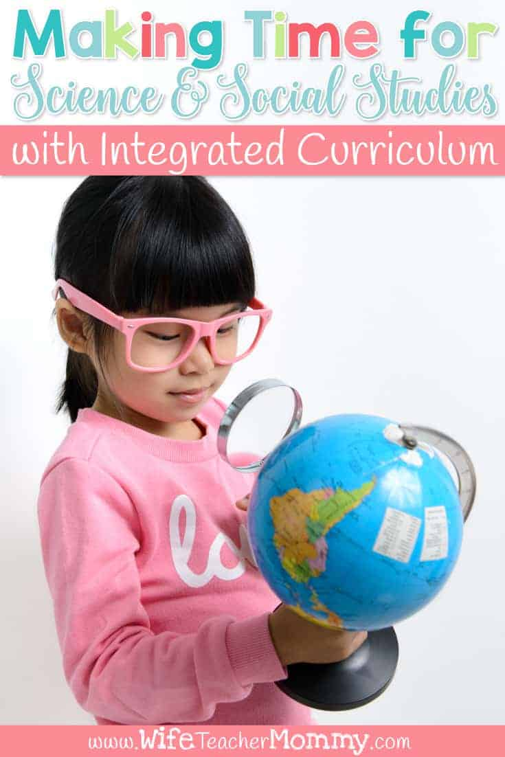 Having a hard time making time for science and social studies? You can fit science and social studies into your schedule with integrated curriculum! Learn how to use integrated instruction can help you fit it all in to your lesson planning. Learn how to create research units, thematic unit plans, and more! Science lesson plans, social studies lesson plans for 2nd, 3rd, 4th, 5th, 6th grade.