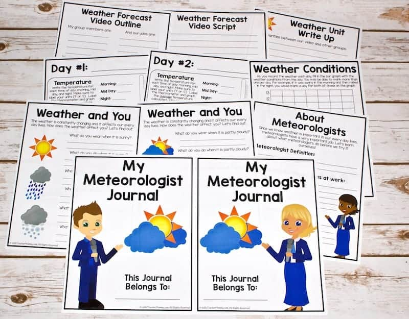 Weather activities for kids