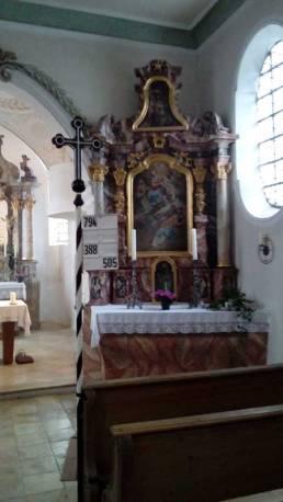 Kirche St. Urban Wifling | Seitenaltar rechts