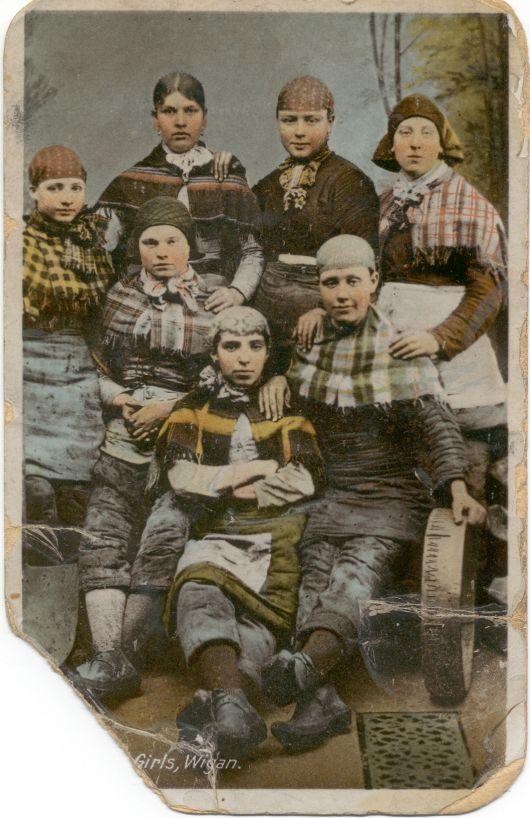 Colliery Girls, Wigan.