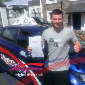Alex-Askwith-driving-test-pass-2015-with-John-Mitchell-isle-of-wight-driving-instructor