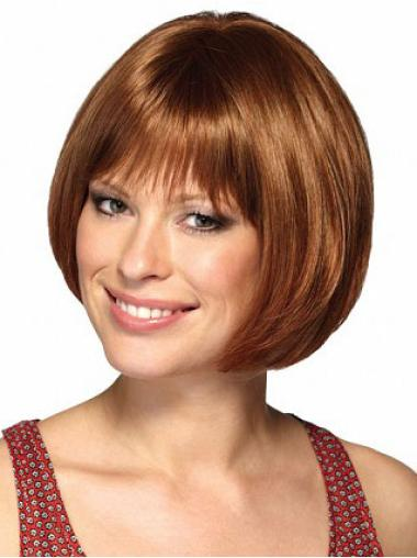 No Fuss Auburn Straight Short Bob Wigs Bob Hairstyles