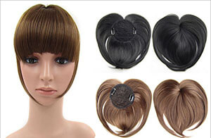 Bangs Clip-on Hairpieces