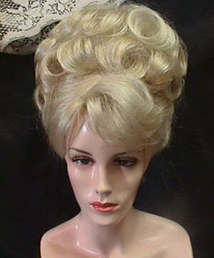 Classic Neat Updo Wig-1