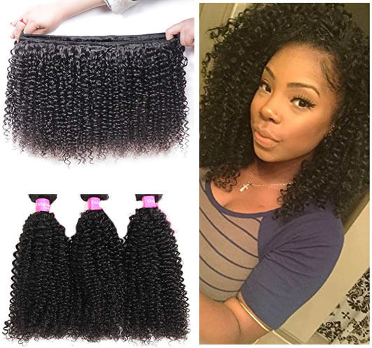 Virgin Kinky Curly Human Hair