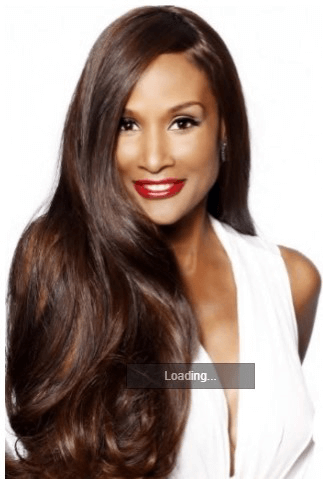 Beverly Johnson Long Wavy Lace Hair Wig