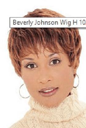 Beverly Johnson Boycut Hair Wig