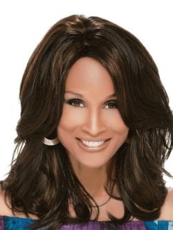 Beverly Johnson Mid-Length Wavy Hair Wig