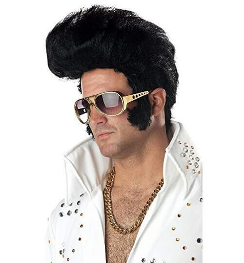 California Costume Elvis Wig