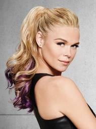 Hairdo Purple Splash Pony Hairpiece