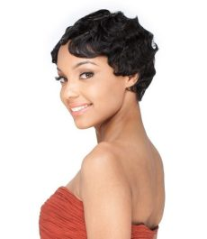 MADAME Short Finger Wave Mommy Wig