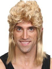 Mullet Wig for Men