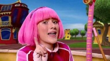 Stephanie pink wig