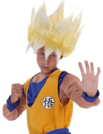 Super Saiyan Goku Dragon Ball Z Kids Wig