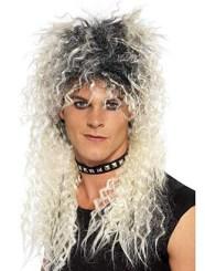 The Mens Rocker 80s Mega Mullet Wig