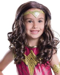 Wonder Woman Kids Wig