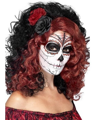 Day of the Dead Senorita Wig