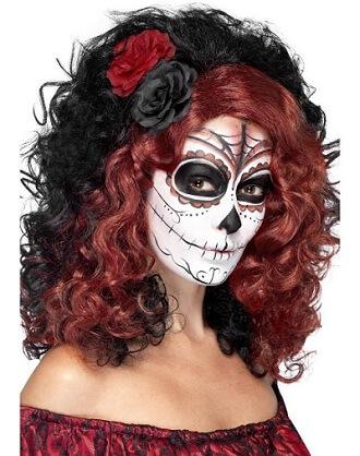 Day of the Dead Senorita Wig
