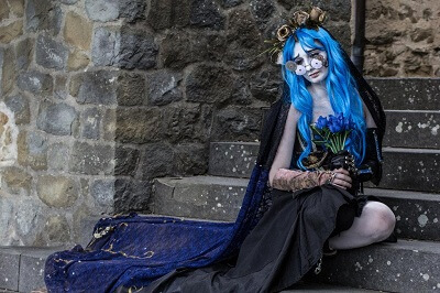 Emily the Corpse Bride Wig