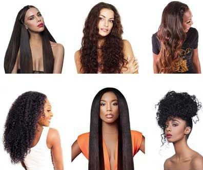 Extremely versatile wigs