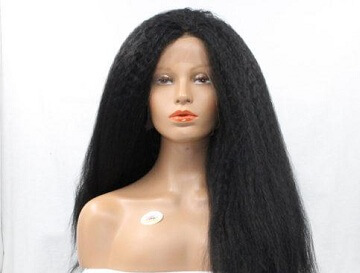 Kinky Yaki Wig Style