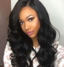 indian wig wavy hair style