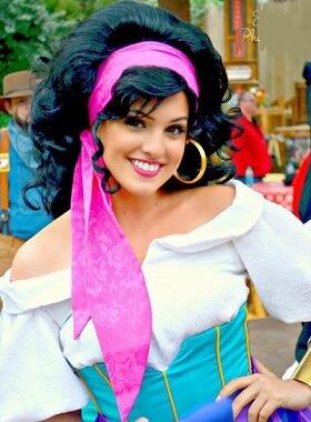 Esmeralda Wig
