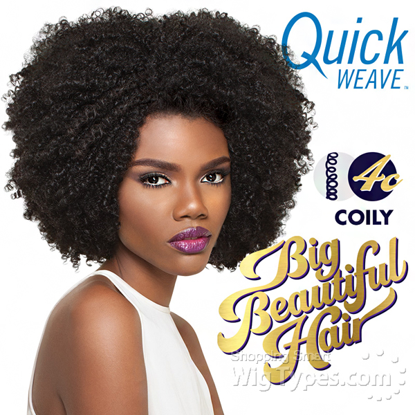 Outre Synthetic Half Wig Quick Weave   BIG BEAUTIFUL HAIR   4C     Outre Synthetic Half Wig Quick Weave   BIG BEAUTIFUL HAIR   4C   COILY   futura