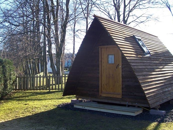 Wigwam at Braidhaugh - Wake up with nature on your doorstep