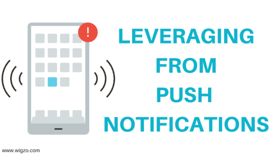 leveraging from push notifications
