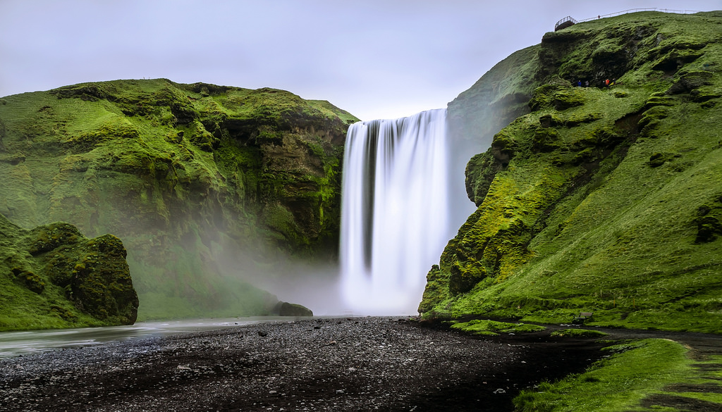 south coast, Iceland, south Iceland, tour, skogafoss, waterfall