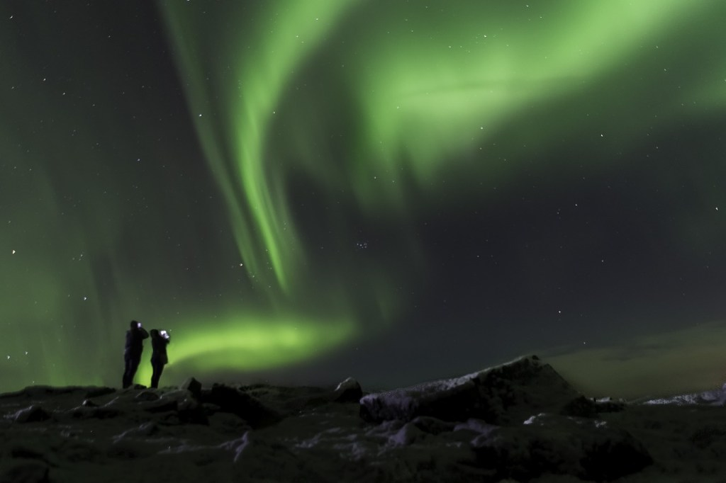 northern lights in Iceland, personalized road trip plan