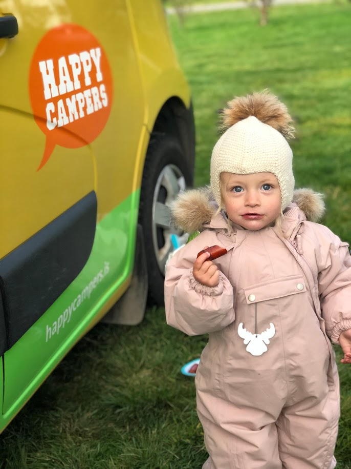 Family road trip in Iceland in a Happy Campers camper van