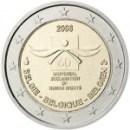 Belgien 2008 2 Euro Menschenrechte