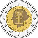Belgien 2 Euro Königin Elisabeth