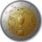 Frankreich 2016 2 Euro UEFA