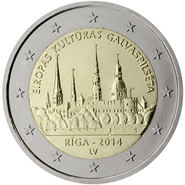 2 Euro Lettland Der Wert Von Sondermünzen Und Gedenkmünzen