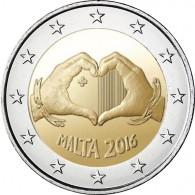 Malta 2 Euro 2016 Liebe