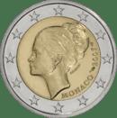 Monaco 2 Euro Gracia Patricia