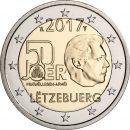 Luxemburg 2017 2 Euro Wehrdienst