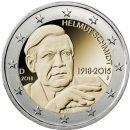 Deutschland 2018 2 Euro Helmut Schmidt