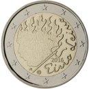 Finnland 2016 2 Euro Münze Eino Leino