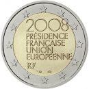 2 Euro Frankreich 2008 Präsidentschaft
