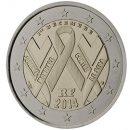 Frankreich 2014 2 Euro Münze zum Weltaidstag (Kampf gegen Aids)