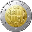 Andorra 2 Euro Kursmünze